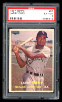 Larry Doby 1957 Topps #85 (PSA 6) at PristineAuction.com