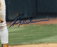 Rickey Henderson Signed Athletics 16x20 Photo (JSA COA) at PristineAuction.com