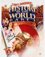 "Mel Brooks Signed ""History of the Word Pt. 1"" 11x14 Photo (PSA COA) at PristineAuction.com"