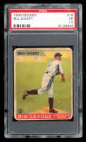 Bill Dickey 1933 Goudey #19 RC (PSA 1.5) at PristineAuction.com