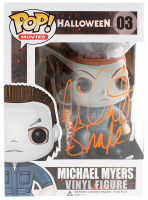 "Nick Castle Signed ""Halloween"" Michael Myers Funko Pop! Vinyl Figure #03 Inscribed ""Shape"" (Radtke COA) at PristineAuction.com"