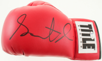 Gervonta Davis Signed Title Boxing Glove (Beckett COA) at PristineAuction.com