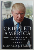 "Donald Trump Signed ""Great Again: How to Fix Our Crippled America"" Hard-Cover Book (PSA LOA) at PristineAuction.com"
