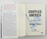 """Donald Trump Signed """"Great Again: How to Fix Our Crippled America"""" Hard-Cover Book (PSA LOA) at PristineAuction.com"""