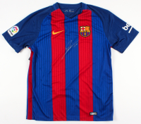 Lionel Messi Signed Barcelona Jersey (Beckett Hologram) at PristineAuction.com