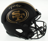 Frank Gore Signed 49ers Full-Size Eclipse Alternate Speed Helmet (JSA COA) at PristineAuction.com