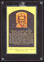 Mickey Mantle Signed Hall of Fame Plaque Postcard (JSA ALOA) at PristineAuction.com