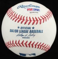Jeb Bush Signed OML Baseball (PSA Hologram) at PristineAuction.com