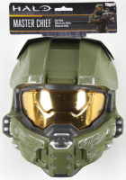 """Steve Downes Signed """"Halo"""" Master Chief Full-Size Mask Inscribed """"I Need A Weapon"""" (Radtke COA) at PristineAuction.com"""