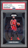 James Harden Signed 2017-18 Panini Prizm #251 (PSA Encapsulated) at PristineAuction.com