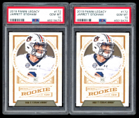 Lot of (2) PSA Graded 10 Jarrett Stidham 2019 Panini Legacy #172 RC at PristineAuction.com