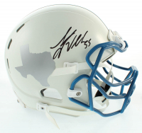 Leighton Vander Esch Signed Full-Size Authentic On-Field Helmet (Beckett COA) at PristineAuction.com