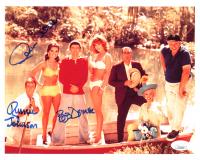 "Bob Denver, Dawn Wells & Russell Johnson Signed ""Gilligan's Island"" 8x10 Photo (JSA COA) at PristineAuction.com"