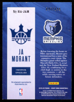 Ja Morant 2019-20 Court Kings Heir Apparent Autographs #36 RC - #47/149 at PristineAuction.com
