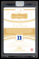 RJ Barrett 2019-20 Panini Flawless Collegiate Rookie Patch Autographs #103 at PristineAuction.com