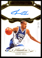 Grant Hill 2018-19 Panini Flawless Collegiate Premium Ink #17 at PristineAuction.com