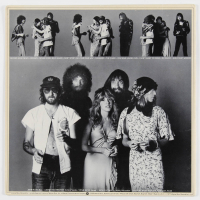 "Mick Fleetwood, Lindsey Buckingham & Christine McVie Signed Fleetwood Mac ""Rumours"" Vinyl Record Album Cover (PSA LOA) at PristineAuction.com"