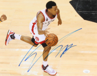 Kyle Lowry Signed Raptors 11x14 Photo (JSA COA) at PristineAuction.com