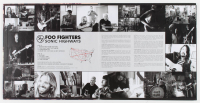 """Foo Fighters """"Outside"""" Vinyl Record Album Cover Band-Signed by (4) with Dave Grohl, Pat Smear, Taylor Hawkins & Nate Mendel (PSA LOA) at PristineAuction.com"""