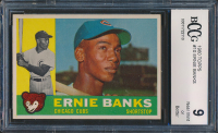 Ernie Banks 1960 Topps #10 (BCCG 9) at PristineAuction.com
