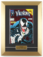 "1992 ""Venom"" Issue #1 Marvel 12x16 Custom Framed First Issue Comic Book Display at PristineAuction.com"