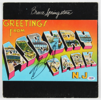 "Bruce Springsteen SIgned ""Greetings from Asbury Park, N.J."" Vinyl Record Album Cover (PSA Hologram) at PristineAuction.com"