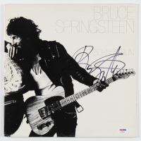 "Bruce Springsteen SIgned ""Born to Run"" Vinyl Record Album Cover (PSA Hologram) at PristineAuction.com"