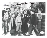 """Eugene Gordon Lee & Tommy Bond Signed """"Our Gang"""" 8x10 Photo Inscribed """"Porky"""" & """"Butch"""" (JSA COA) at PristineAuction.com"""