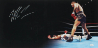 Mike Tyson Signed 12x24 Panoramic Photo (JSA COA) (See Description) at PristineAuction.com