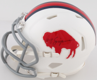 "O.J. Simpson Signed Bills Speed Mini Helmet Inscribed ""2003 YDs"" (Simpson COA) at PristineAuction.com"