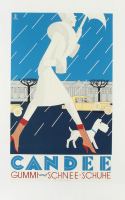 """""""Candee"""" Hand-Pulled 13x21 Lithograph by the RE Society (See Description) at PristineAuction.com"""