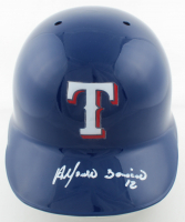 Alfonso Soriano Signed Rangers Authentic On-Field Full-Size Batting Helmet (Radtke COA) at PristineAuction.com