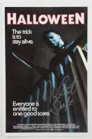 "Nick Castle Signed ""Halloween"" 11x17 Photo Inscribed ""Shape"" (Radtke COA) at PristineAuction.com"