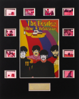 """The Beatles: Yellow Submarine"" LE 8x10 Custom Matted Original Film Cell Display at PristineAuction.com"