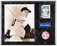 Tony Kubek Signed Yankees 12x15 Custom Framed Photo Display with Upper Deck Sports Card & Patch(PSA Hologram) at PristineAuction.com