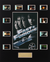"""Fast & Furious"" LE 8x10 Custom Matted Original Film / Movie Cell Display at PristineAuction.com"