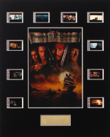 """Pirates of the Caribbean: The Curse of the Black Pearl"" LE 8x10 Custom Matted Original Film / Movie Cell Display at PristineAuction.com"