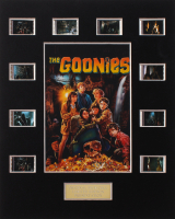 """""""The Goonies"""" LE 8x10 Custom Matted Original Film / Movie Cell Display at PristineAuction.com"""
