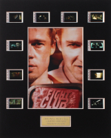"""""""Fight Club"""" LE 8x10 Custom Matted Original Film / Movie Cell Display at PristineAuction.com"""