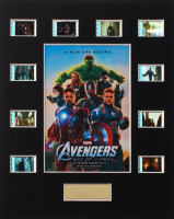 """Avengers: Age of Ultron"" LE 8x10 Custom Matted Original Film / Movie Cell Display at PristineAuction.com"
