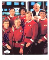"Walter Koenig & Nichelle Nichols Signed ""Star Trek VI: The Undiscovered Country"" 8x10 Photo (JSA COA) at PristineAuction.com"