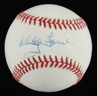 Whitey Ford Signed OAL Baseball (Beckett COA) at PristineAuction.com