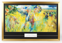 "LeRoy Neiman ""The Big Five"" 24x36 Custom Framed Cut Display (PSA COA) at PristineAuction.com"