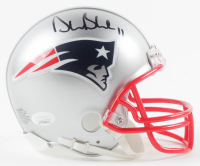 Drew Bledsoe Signed Patriots Mini Helmet (JSA COA) at PristineAuction.com