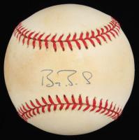 Barry Bonds Signed ONL Baseball (Steiner COA) at PristineAuction.com