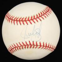 Juan Gonzalez Signed OAL Baseball (Steiner COA) at PristineAuction.com