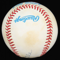 """Mickey Mantle Signed OAL Baseball Inscribed """"No. 7"""" (UDA COA) at PristineAuction.com"""