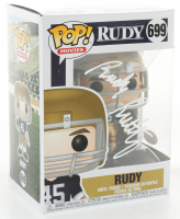 Rudy Ruettiger Signed Notre Dame Fighting Irish #699 Funko Pop! Vinyl Figure (JSA COA) at PristineAuction.com