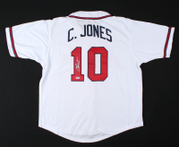 Chipper Jones Signed Jersey (PSA COA) at PristineAuction.com