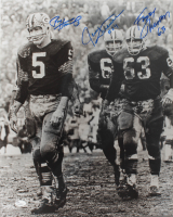 "Fuzzy Thurston, Paul Hornung, & Jerry Kramer Signed ""Packers Legends"" 16x20 Photo (JSA Hologram) at PristineAuction.com"